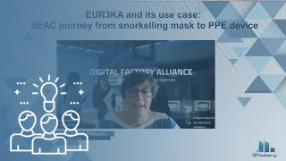 EUR3KA and its use case: SEAC journey from snorkelling mask to PPE device