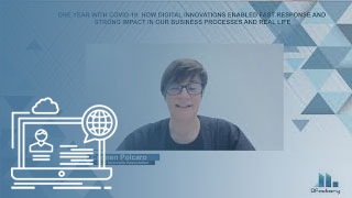 One year with covid-19: How digital innovations enabled fast response and strong impact in our business processes and real life